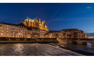 Moyen-pont et cathédrale de Metz - Oxyzen Formations