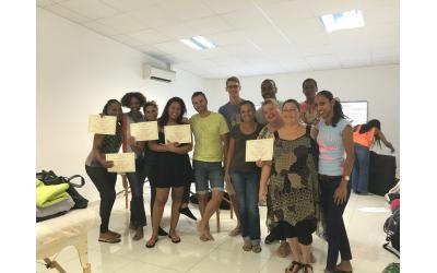 Formation Massage, remise des diplômes - Oxyzen Formations